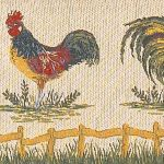 Cockerel draught excluder