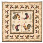 Cockerel table cover